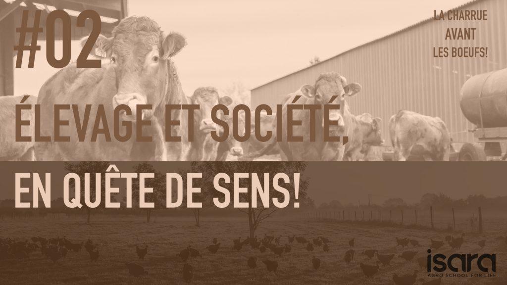 Elevage et société en quête de sens
