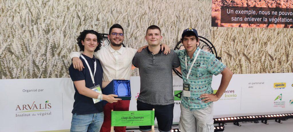 Prix du court métrage technique agricole – Festival Clap des champs, attribué aux élèves-ingénieurs Isara.